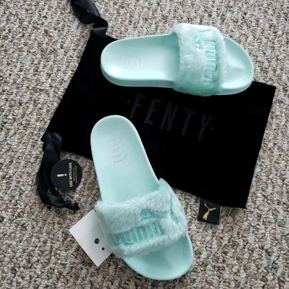 Puma Fenty by Rihanna Pastel Mint Slides